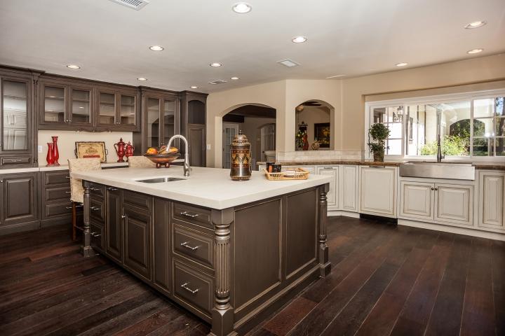 dark-gray-kitchen-cabinets